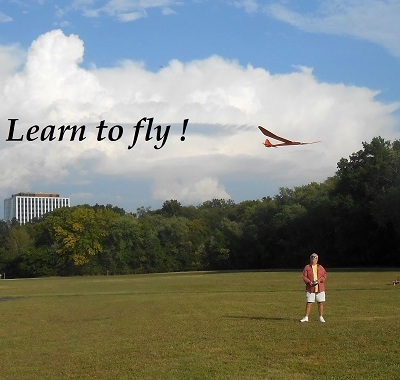 Learn to fly RC